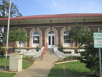 Franklin, Texas - Carnegie Library in Franklin (2011)