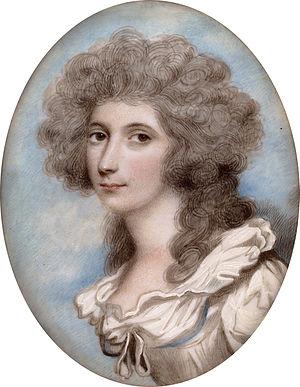Andrew Plimer - Caroline Price (1755-1826) by Andrew Plimer
