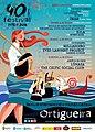 Cartel del Festival de Ortigueira 2018 con programa de actuaciones (42488362905).jpg