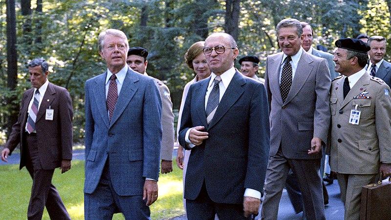 Carter and Begin, September 5, 1978 (10729514294).jpg