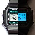 Casio W-86 digital watch electroluminescent backlight (ii).jpg