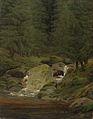 Caspar David Friedrich - Tannen am Wasserfall.jpg