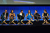 Agents of S.H.I.E.L.D. cast members at PaleyFest 2014.