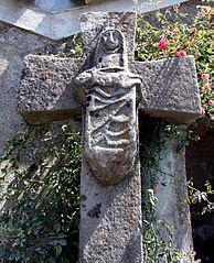 croix du lavoir de Castans