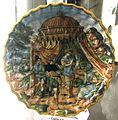 Casteldurante, bottega di andrea da negroponte, elena e priamo, 1550-65 ca..JPG