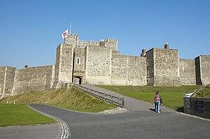 Geoffrey (archbishop of York) - Image: Castle Dover 1 cz