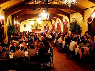 Larnach Castle - Inside the ballroom