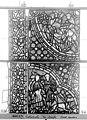 Cathédrale - Vitrail, baie 59, Vie de Joseph, cinquième panneau, en haut - Rouen - Médiathèque de l'architecture et du patrimoine - APMH00031365.jpg