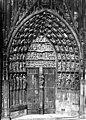 Cathédrale Notre-Dame - Portail central de la façade ouest - Strasbourg - Médiathèque de l'architecture et du patrimoine - APMH00007652.jpg