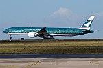 Cathay Pacific (The Spirit of Hong Kong Livery), B-KPB, Boeing 777-367 ER (28461549525) (2).jpg