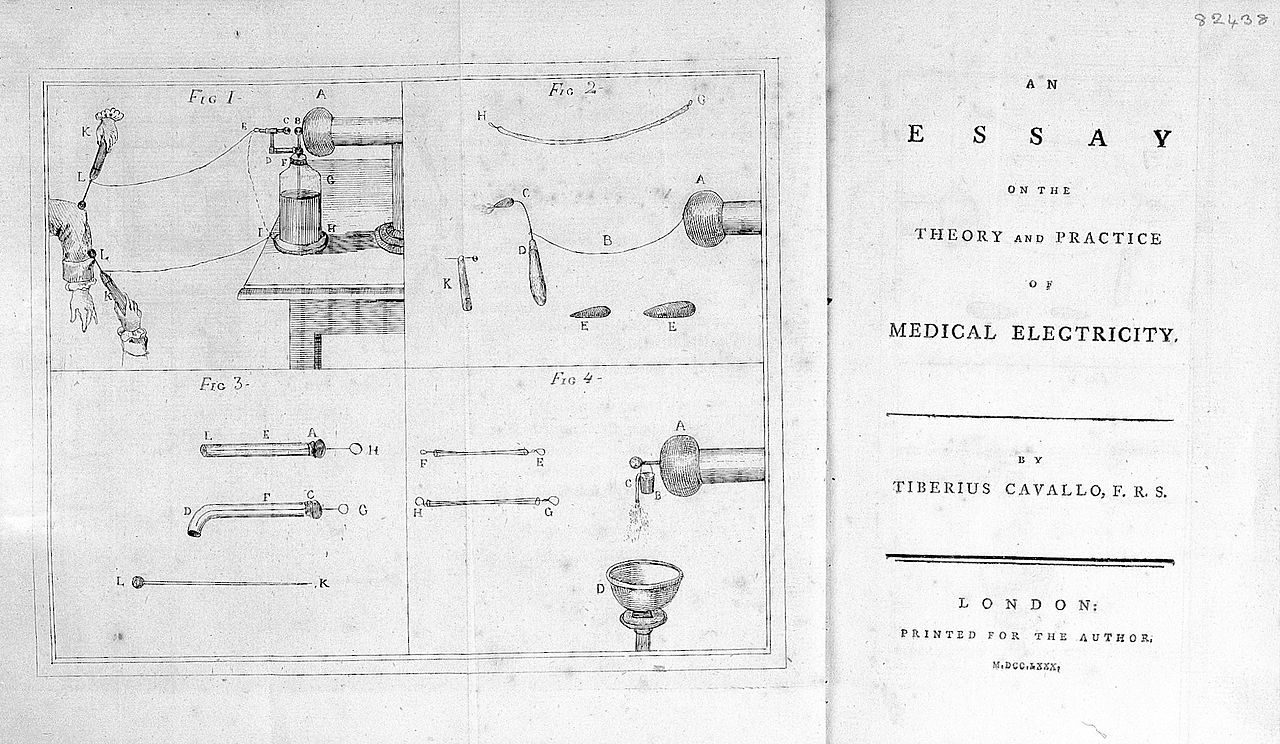 file cavallo essay on medical electricity 1780 title page file cavallo essay on medical electricity 1780 title page wellcome l0028635 jpg