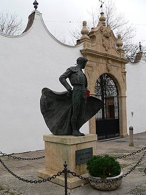 Cayetano Ordóñez - Cayetano Statue in Ronda, Málaga