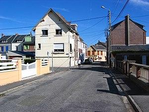 Cayeux-sur-Mer - Image: Cayeux sur mer rue Fleury aout 2008