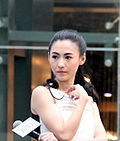 Photo of Cecilia Cheung in 2012.