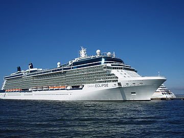 Celebrity Eclipse departing 26 June 2011 Tallinn.JPG