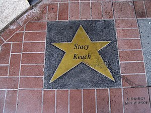 Stacy Keach - Keach's star at the Orpheum Theatre, 2010