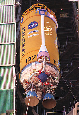 Centaur-2A upper stage of an Atlas IIA