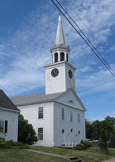 Central Congregational Church (Eastport, Maine) church building in Maine, United States of America