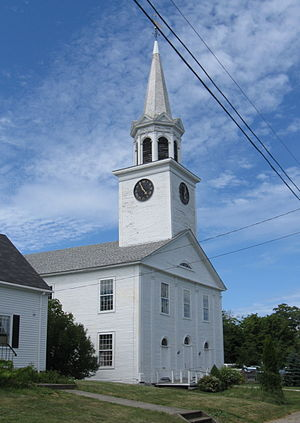 Central Congregational Church (Eastport, Maine) - Image: Central Cong Church, Eastport, Maine 2012