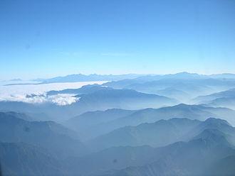 Central Mountain Range - Image: Central Range