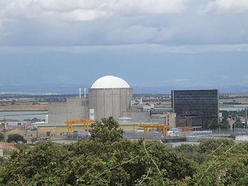 Español: Central nuclear de Almaraz (Cáceres) ...
