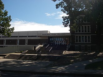 Central High School (Memphis, Tennessee) - Memphis Central High modern entry