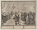 Ceremony of the Contract of Marriage between Władysław IV, King of Poland, and Marie Louise Gonzaga, Princess of Mantua, at Fontainebleau MET DP818296.jpg