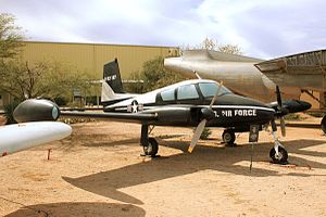 Cessna 310 - An ex-USAF U-3A on display at the Pima Air & Space Museum in Tucson, Arizona