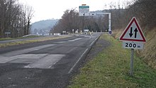 Route nationale 89 france wikimonde for Route nationale 104