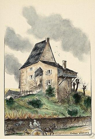 Izeste - The chateau of Izeste