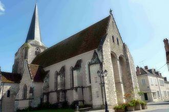 Chabris - The church of Saint-Christophe-et-Saint-Phalier, in Chabris