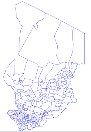 Sub-prefectures of Chad - Sub-prefectures of Chad