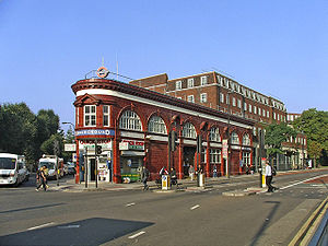 Chalk Farm tube station - Image: Chalk Farm tube station