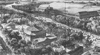 Théâtre des Folies-Marigny - Image: Champs Élysées, Palais de l'Industrie, Salle Lacaze, Cirque de l'Impératrice 1855 Yon 2000pla 27