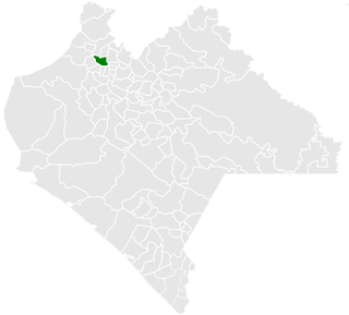 Chapultenango Municipality in Chiapas, Mexico