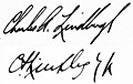 Charles A. Lindbergh (Jr) signatures.jpg