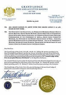 Charter from the Grand Lodge of New York F.&A.M.jpg