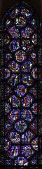 vitrail de saint Sylvestre à Chartres