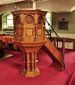 Chatham Dockyard Church pulpit.jpg