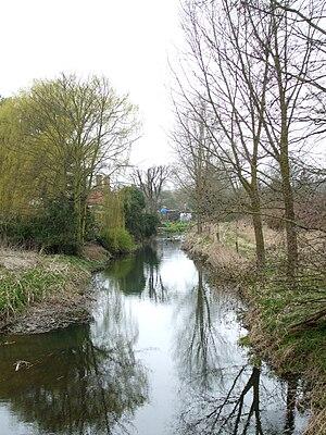 River Chelmer - Image: Chelmer howe street tl 698147