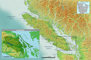 Stz'uminus First Nation - traditional territory claimed by the Chemainus First Nation