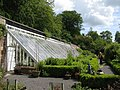 Chesters Walled Garden - greenhouse and main herb bed - geograph.org.uk - 1461071.jpg