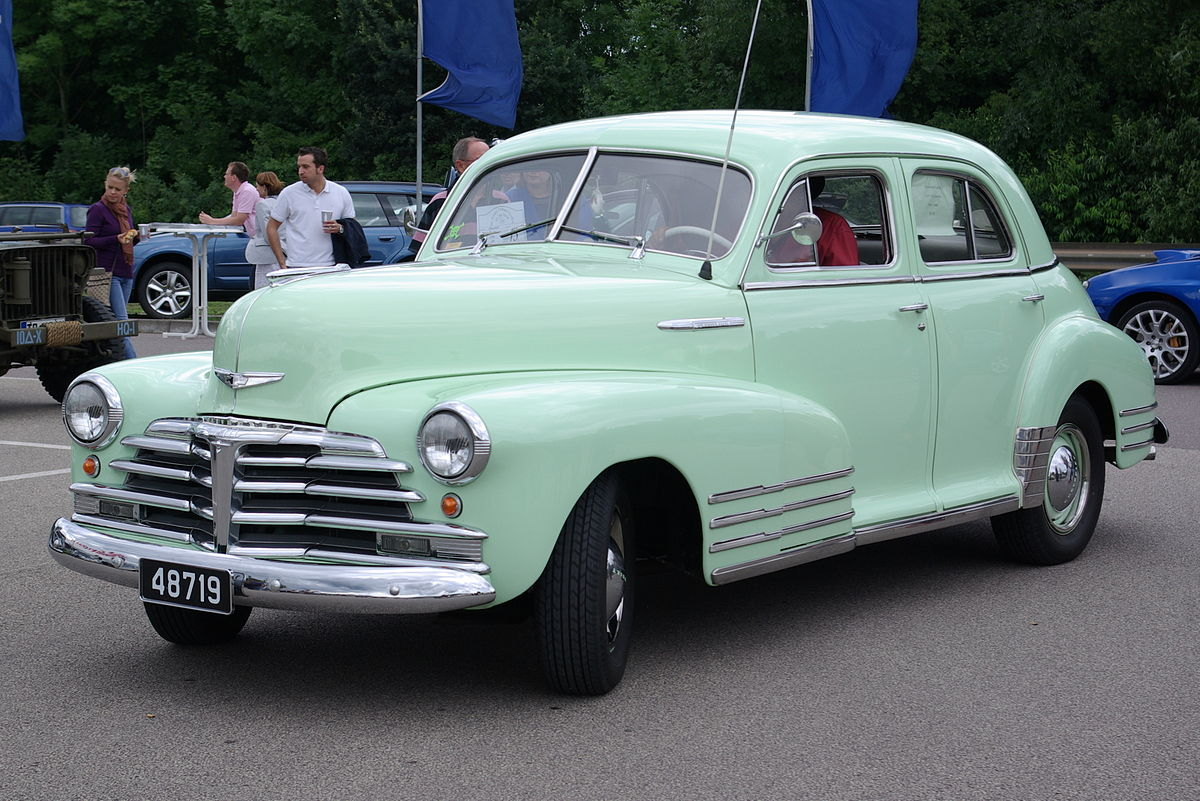 Coupe 1948 chevy stylemaster coupe for sale : Chevrolet Fleetline - Wikipedia