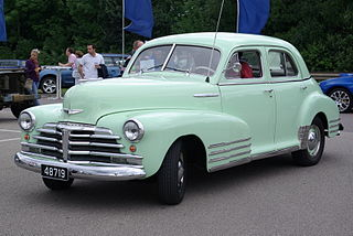 Chevrolet Fleetline Motor vehicle