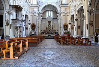 Santa Maria della Mercede a Montecalvario - Interior