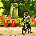Children on a bicycle (6898657334).jpg