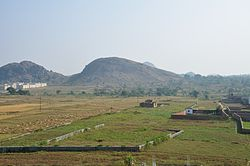 Landscape in Chiraundi village of Morabad, Ranchi.