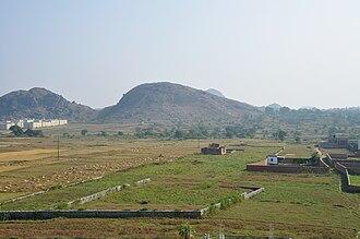 Chota Nagpur Plateau - Landscape in Chiraundi village of Morabadi, Ranchi.