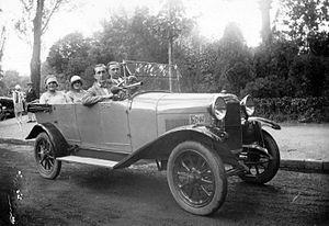 Chiribiri - Chiribiri four-seater, 1926