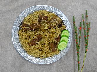 Saraiki cuisine - Image: Cholistani Camel Meat Pulao